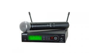 Аренда беспроводных микрофонов